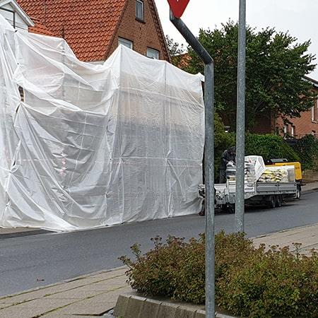 Facaderenovering af privat ejendom - Kruse Byg